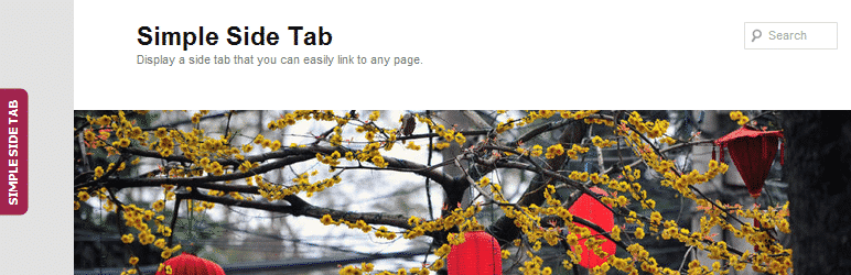 Simple Side Tab WordPress Plugin
