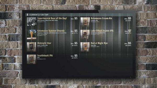 Boatyard Brewing On-Tap Kiosk