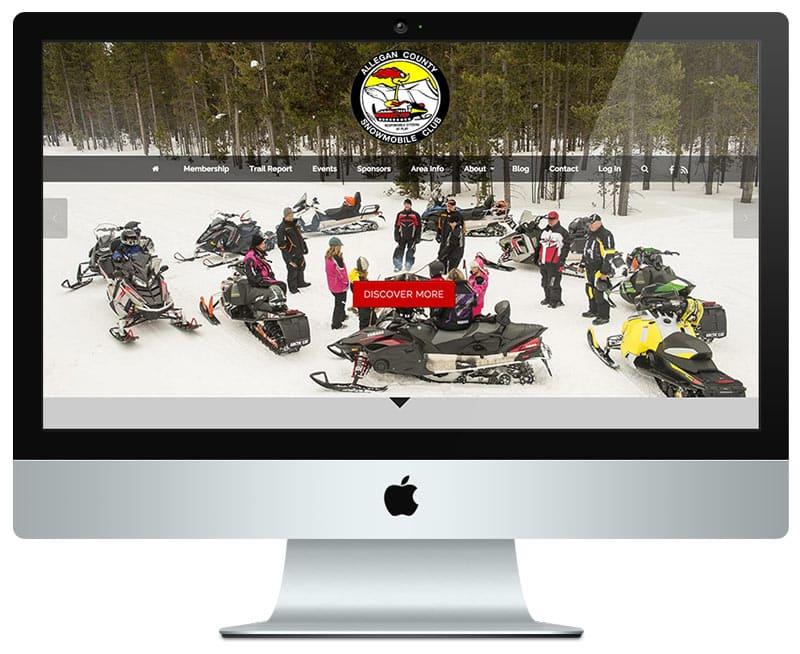 Club Membership Web Design