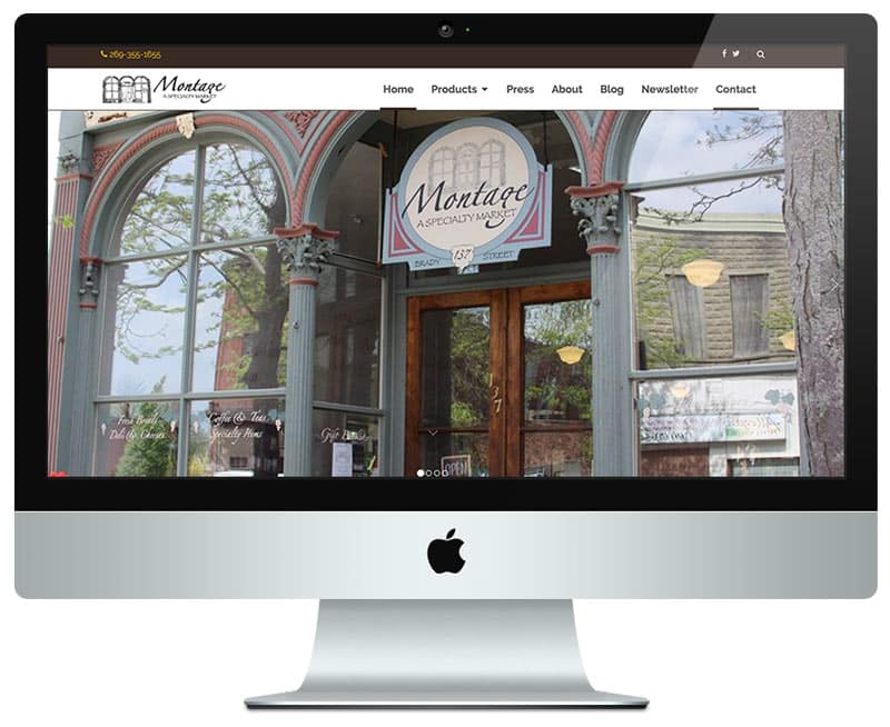 Retail Web Design
