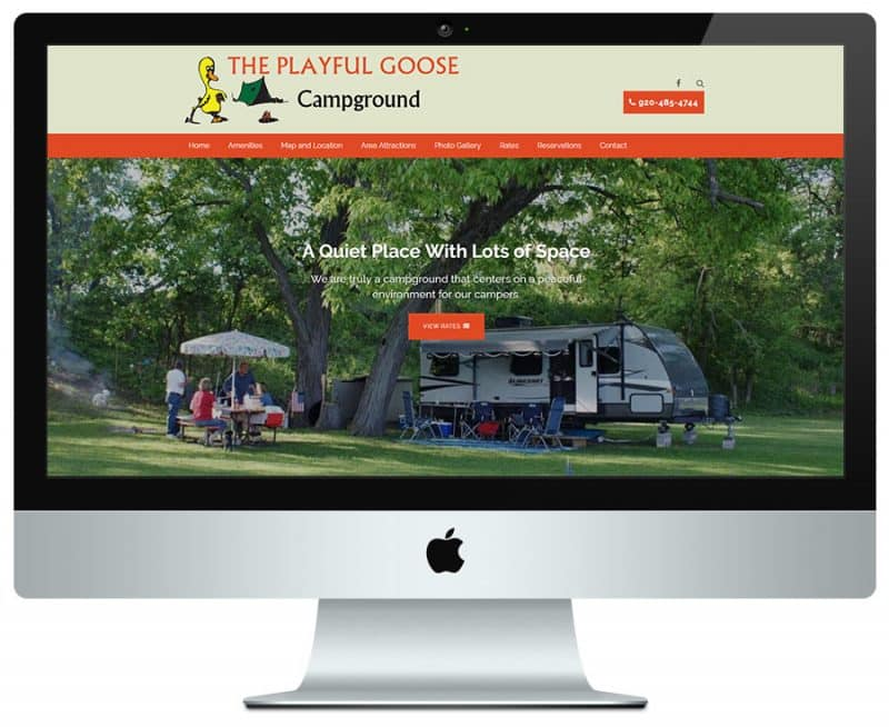 campground web design