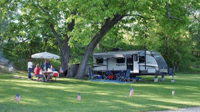 campground website design