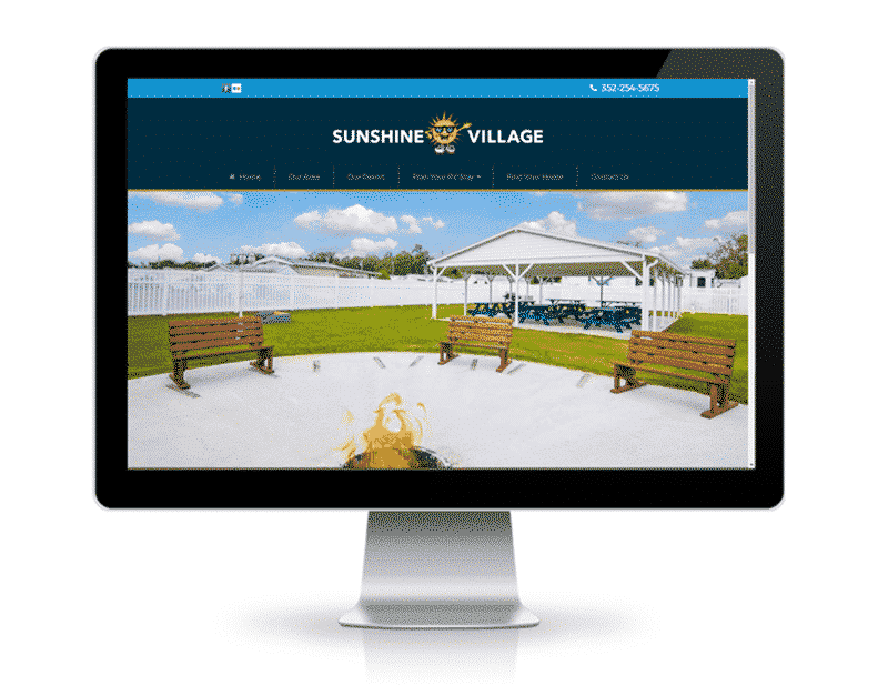 Mobile Home Community Website