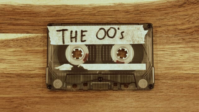 Outdated Content Cassette Tape