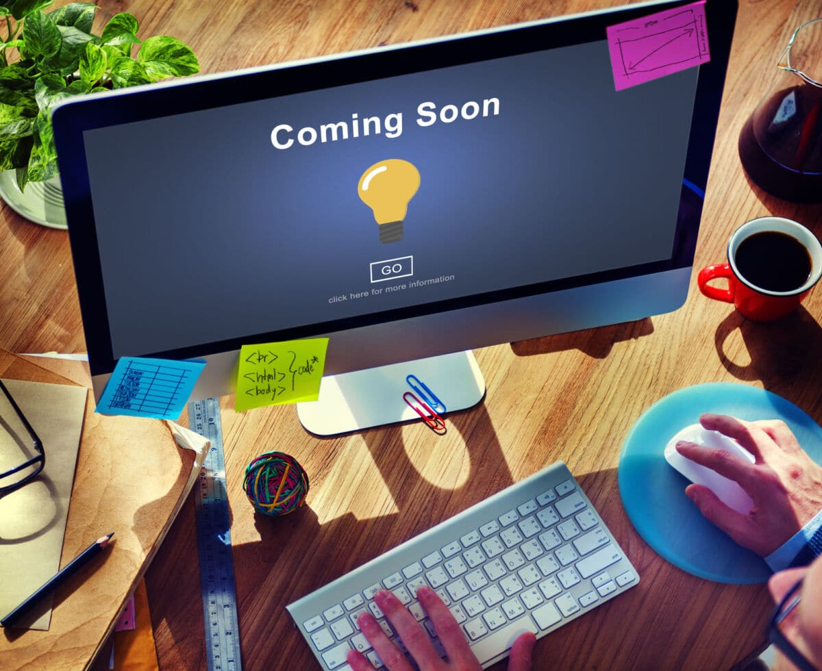 Coming Soon Opening Promotion Announcement No Business Website Rumspeed