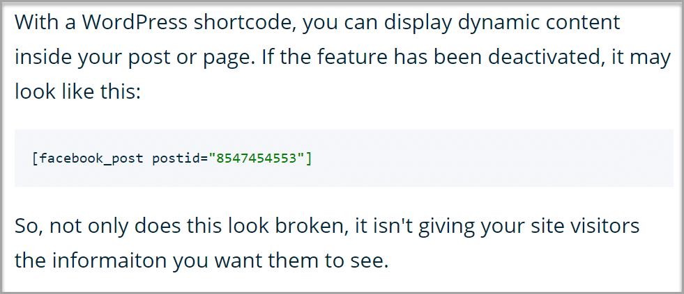 wordpress-shortcode-not-working